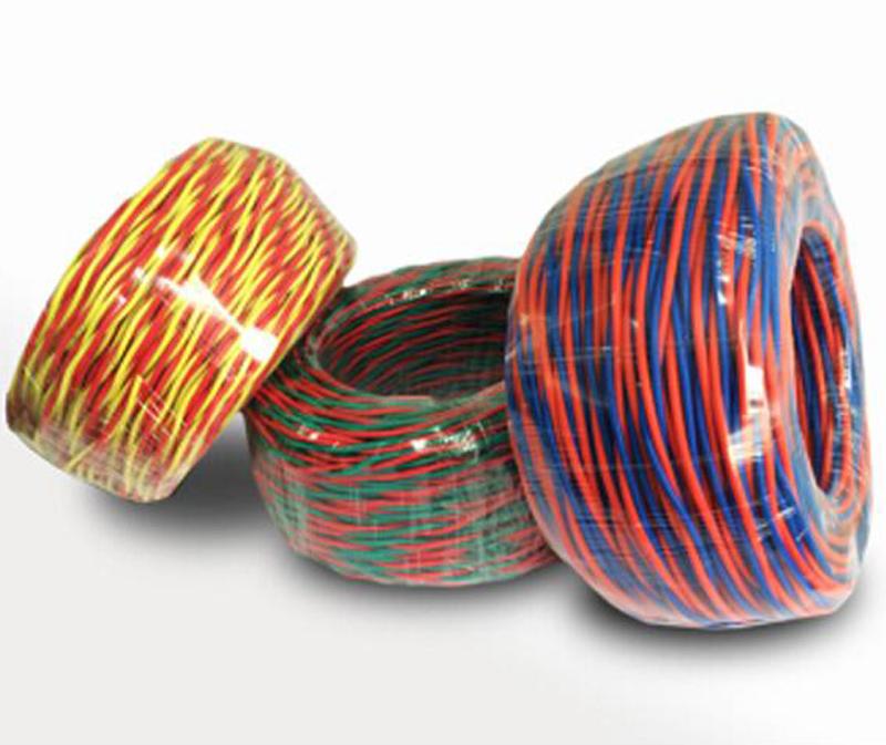 N-RVS铜芯聚氯乙烯绝缘耐火绞型连接用软电线