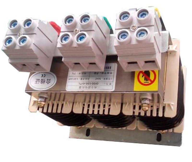 6%电抗率三相电容器专用串联电抗器