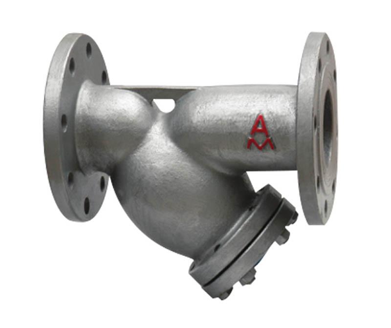 SY14C-H16铸钢Y型过滤器