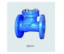 HO系列用于建筑行业污水雨水管道处理的球型止回阀