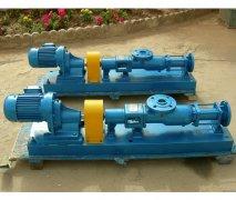 G型啮合容积式单螺杆泵