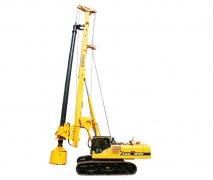 SDR系列用于路桥机场水利等行业需成孔作业的旋钻挖机