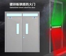 TNJB镀锌板钢质防火门