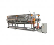 1250型程控自动液压厢式压滤机