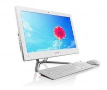 联想 IdeaCentre C340 20英寸一体电脑 (i3-3240T 4G 500G)白色