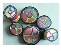 VV-聚氯乙烯绝缘电力电缆